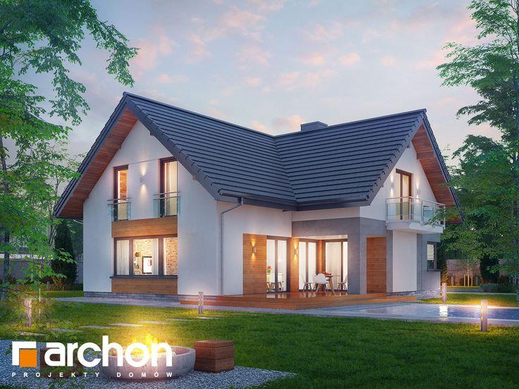 #Nowość! Projekt: #Dom w orszelinach - jednorodzinny, parterowy z poddaszem użytkowym o powierzchni całkowitej 159,97m2 + garaż 21,15m2 + kotłownia 6,73m2.