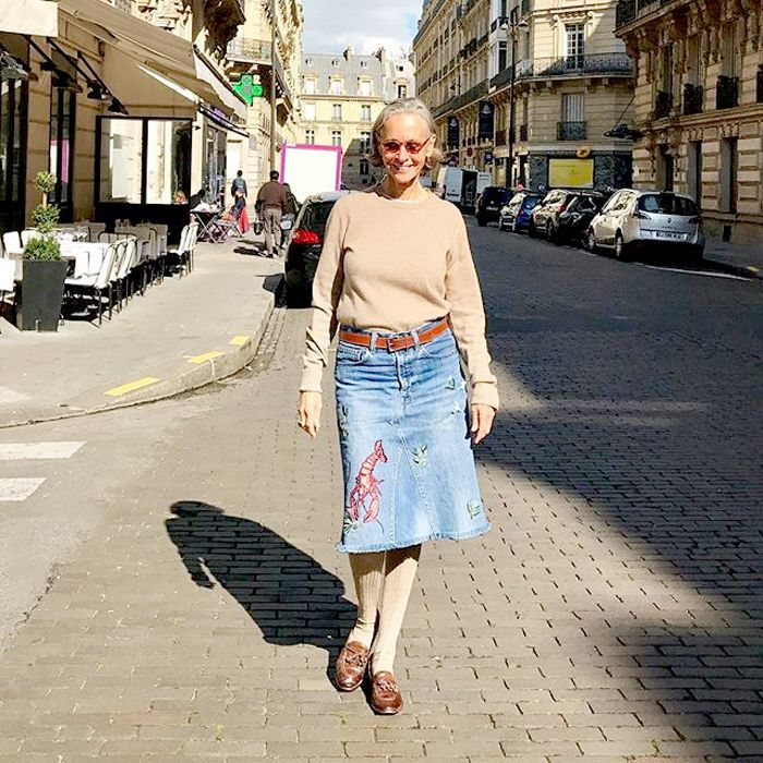 On the hunt for style inspiration for older women? Linda Wright, 69 years old, is just the woman.