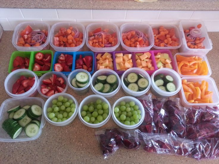 Prepping Food (21 Day Fix Friendly) | Needles & Bows