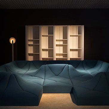 Louis Vuitton Showcases A Collection Of Forward Looking Furnishings Designed  By Pierre Paulin In The 1970s