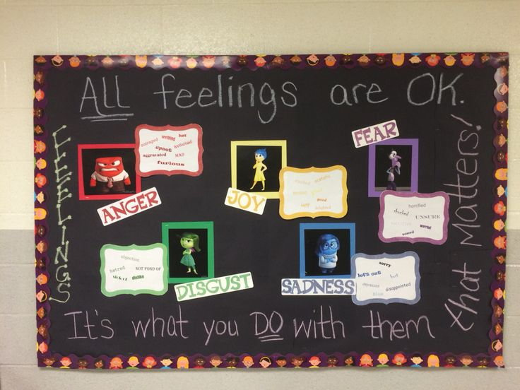 Inside Out bulletin board