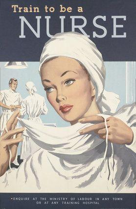 Train to be a Nurse  Rix  © IWM (Art.IWM PST 8301)
