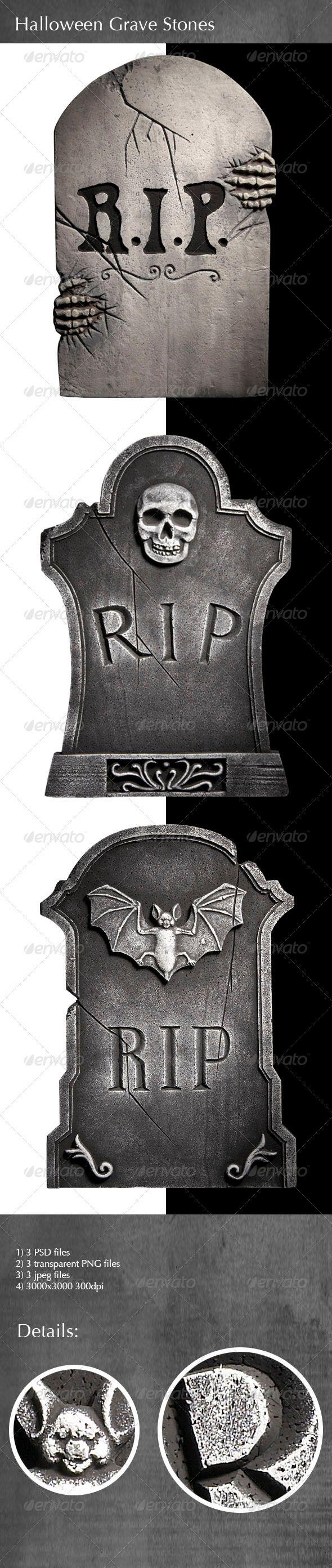 Halloween Grave Stones