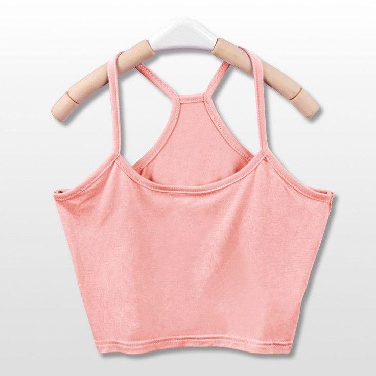 2016 Hot sale Summer Style Women Tank Crop Top Short Vest Womens Sexy Camisole Bustier Crop Top cropped Camisa Feminina