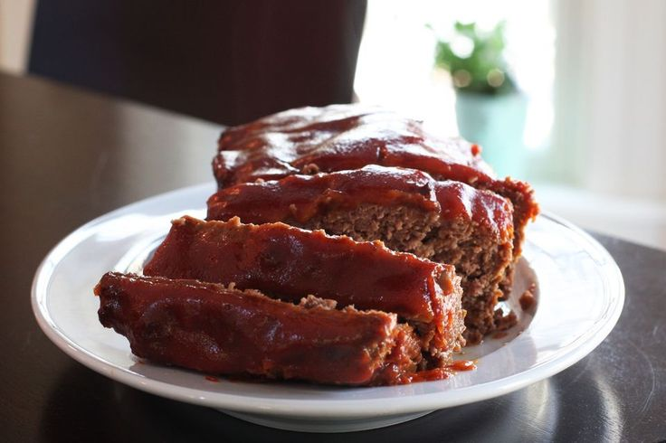 Simple Meatloaf Recipe With Optional Topping