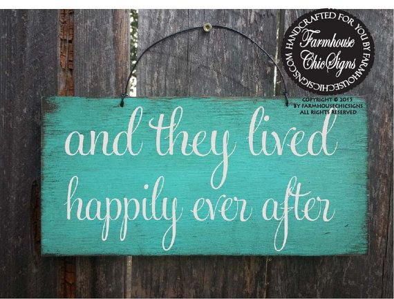 happily ever after sign, wedding sign, rustic wedding, wedding decor, flower girl sign, wedding decoration, rustic decoration