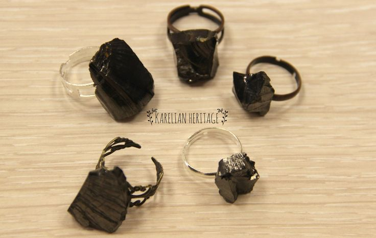 Shungite rings are the most POWERFUL accessories that are perfectly designed for everyday personal PROTECTION 💍 Along with being TRENDY, they stimulate the huge number of BIOACTIVE spots located in our hands and fingers that are strongly related to our physical and emotional HEALTH. 💪 Follow the link to find your PERFECT RING from $10 to be healthy and protected! 🙌 #jewelry #handmadejewelry # healingcrystals #KarelianHeritage #KarelianShungite