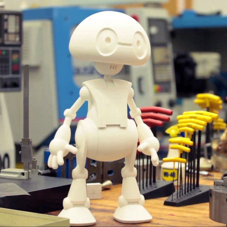 Jimmy: Intel's 3D printed open source robot platform http://3dprintsoftheworld.com/object/jimmy-intels-3d-printed-open-source-robot-platform #3dprinting #robotics #opensource