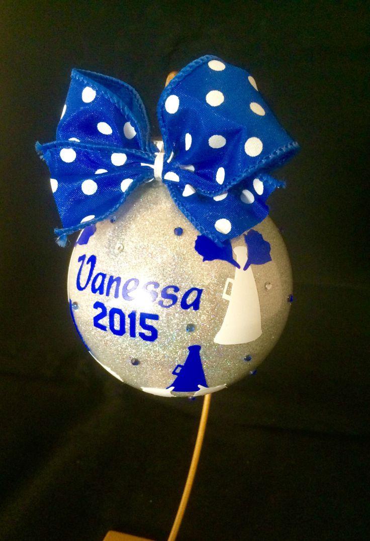 Lacrosse Christmas Ornaments