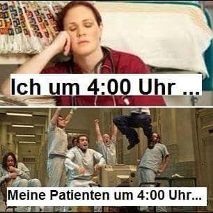 17 Fotos, über die jede Krankenschwester nach dem Nachtdienst lachen wird