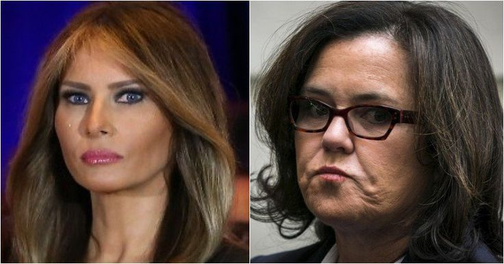 Pissed Off Melania Slaps Rosie O'Donnell Hard, Could Cost Her BIG Bucks