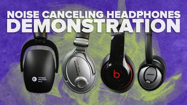 Noise Cancelling Headphones Review: Sennheiser vs Bose vs Beats Demonstr...