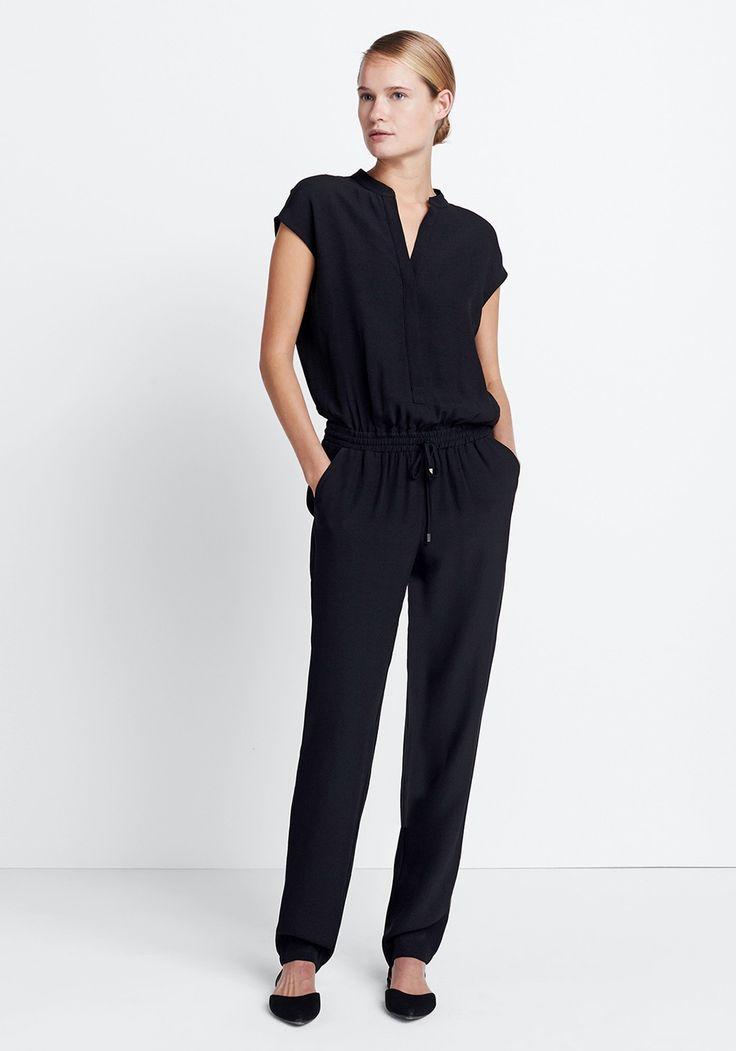Damen Outfit Festive Jumpsuit von someday Fashion: schwarzer Jumpsuit