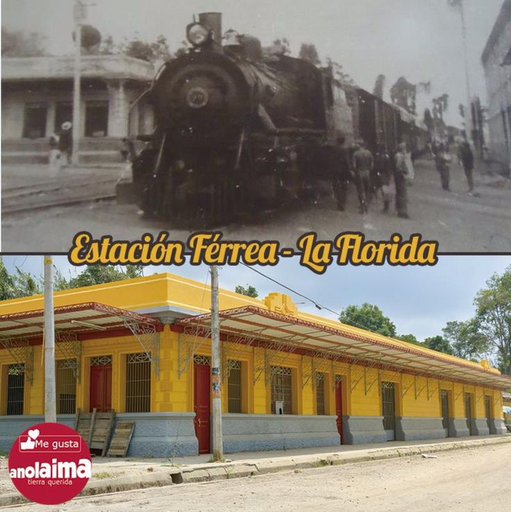 Ferrocarriles Nacionales de Colombia Tren de Facatativá / Girardot cuando llegaba a la Estación de la Florida / Cund.  (centro Poblado La Florida / Anolaima Cundinamarca). Foto Locomotora: Doctor Jaime Rivera.