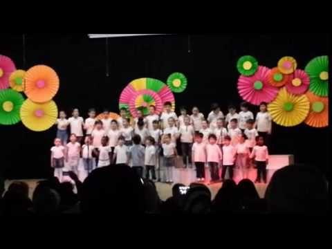 Çocuk şarkısı Dünya barışı I Barışa miniklerden şarkı I - YouTube