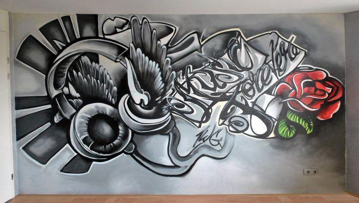 Tattoo Art Style | graffiti tattoo style by thewritebros