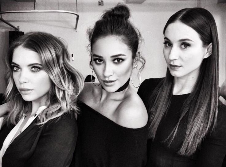 Ashley Benson, Shay Mitchell and Troian Bellisario