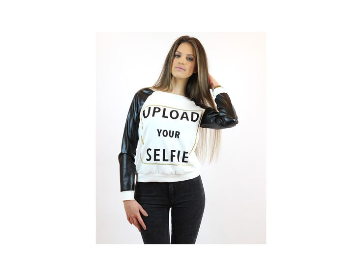 Upload Your Selfie Jumper - Jumpers and Cardigans - Famevogue- www.famevogue.ro  #jumpers #pulover #style #fashion #haine #trends