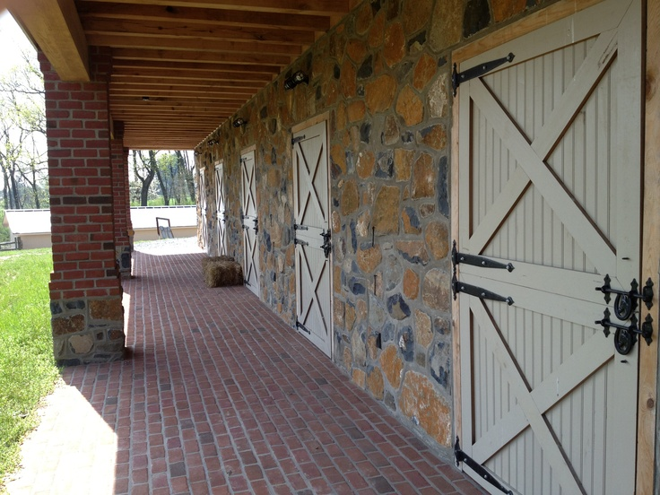 Stable Doors at the Mini Barn