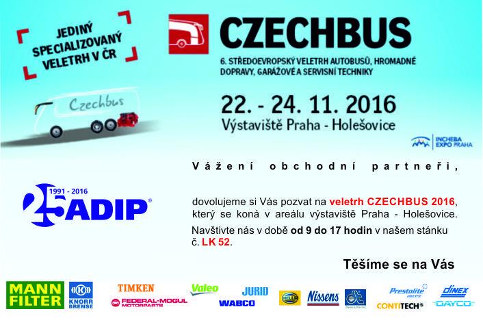 Czech bus 2016