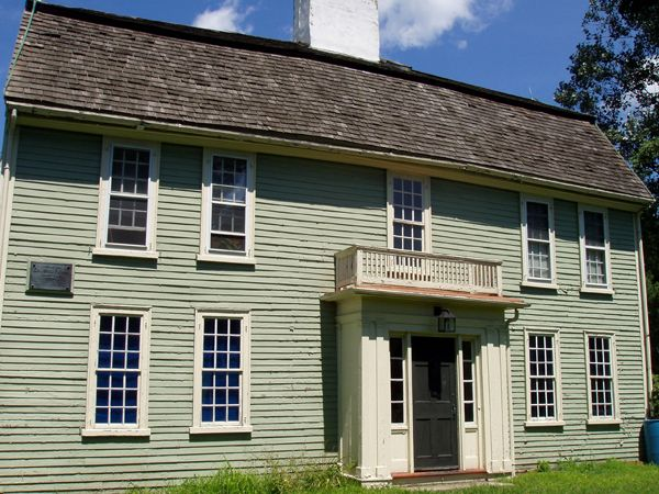 The Putnam House built in 1648 in Salem Village, now Danvers, Massachusetts