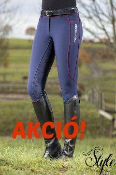 HKM teli szilikonos női lovaglónadrág Side Pocket Performance Ár: 24 300 Ft HELYETT 21 870 Ft/db