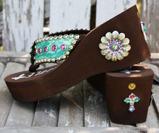Cheap Gypsy Soule Flip Flops | Giddy Up Glamour > Gypsy Soule Jasmin Flip  Flops