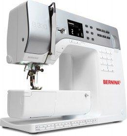 Macchina per cucire Bernina 330 - Piacere estetico e capolavoro tecnologico.