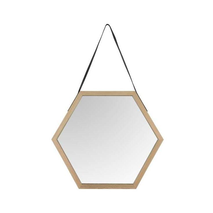 17 meilleures images propos de miroirs sur pinterest for Miroir hexagonal