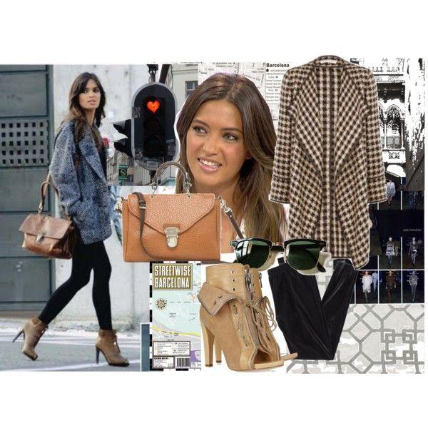 """Sara Carbonero - Barcelona Style"" by elfs-stilettos on Polyvore"