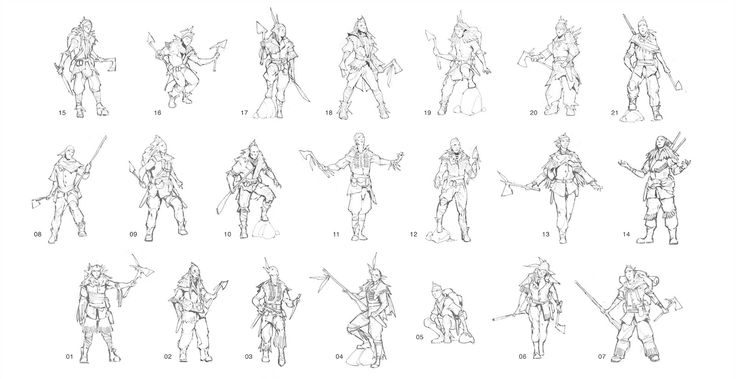 Character Design Outline : Character design sheet template free desktop hd