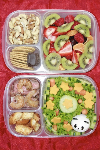 Obento Momma packed her own lunches for a week of school classes.