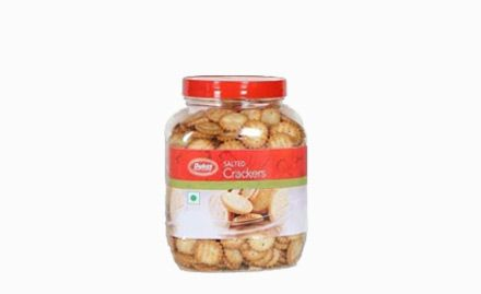 Rs 10 off on Dukes Salted Crackers 200 gm. Valid at all Arambagh Outlets across West Bengal