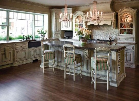 Habersham French Country Kitchen