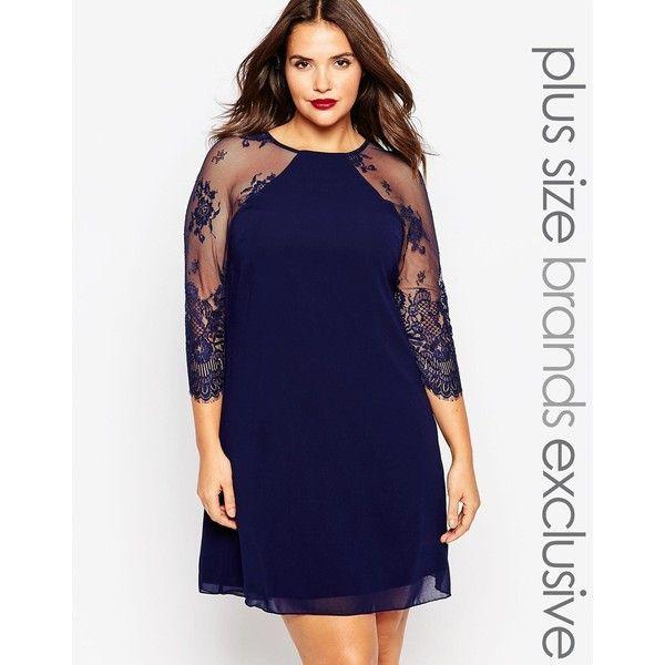 Best 20+ Navy plus size dresses ideas on Pinterest | Big size ...