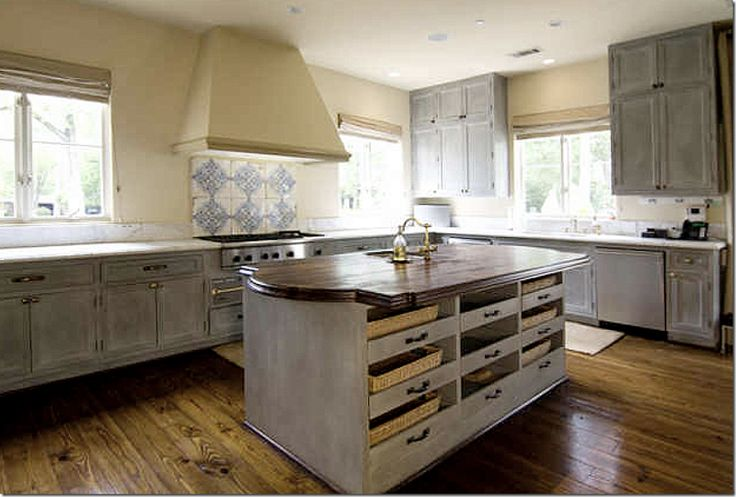 16 best images about white washed kitchen cabinets on for Blue washed kitchen cabinets