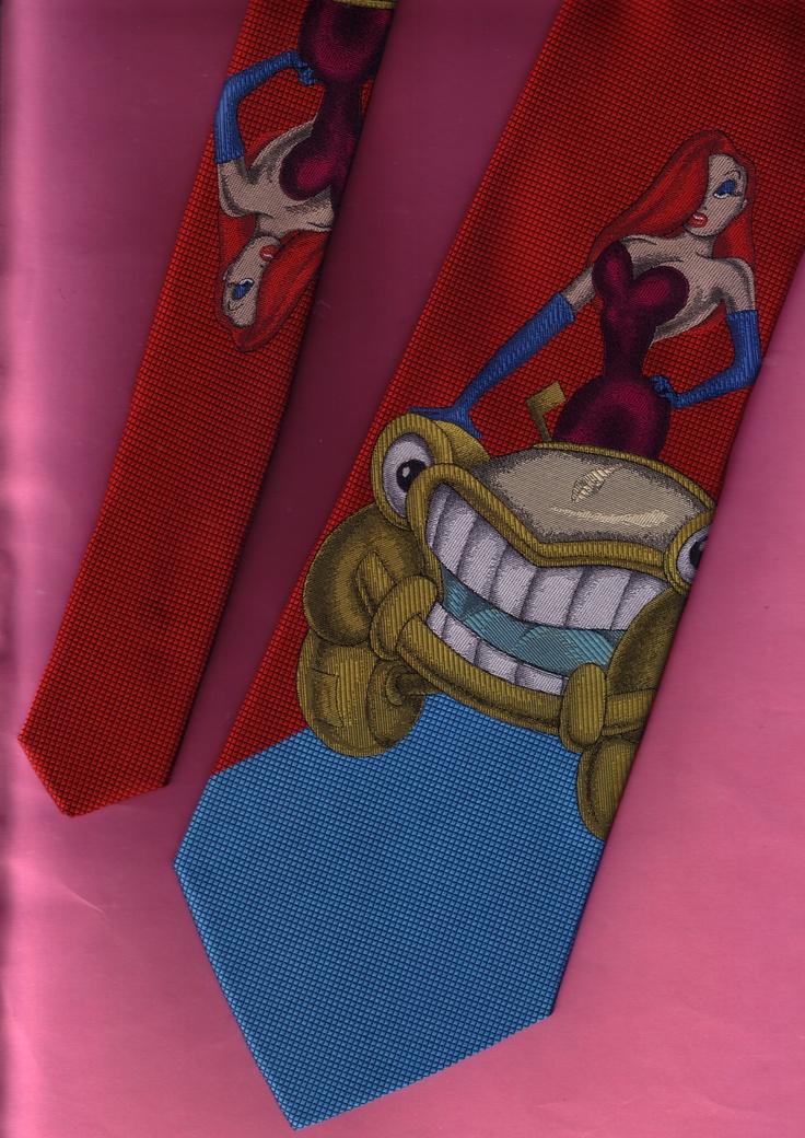 Jessica Rabbit necktie