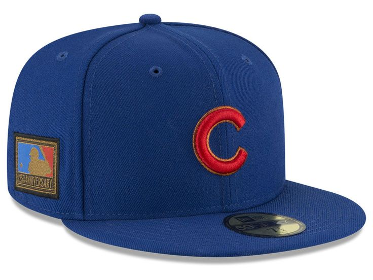 d458e95ce14 Chicago Cubs New Era MLB Ultimate Patch Collection 125th Anniversary 59FIFTY  Cap