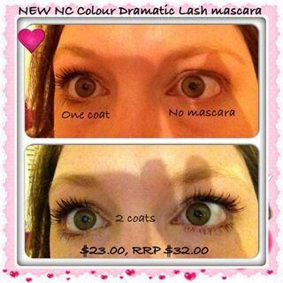 New Nc dramatic mascara Nutrimetics