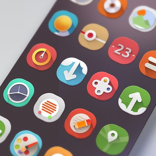 Nice, colourful icons