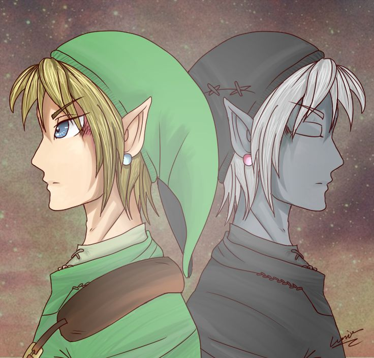 Two sides of the coin by Lumier-san.deviantart.com on @DeviantArt