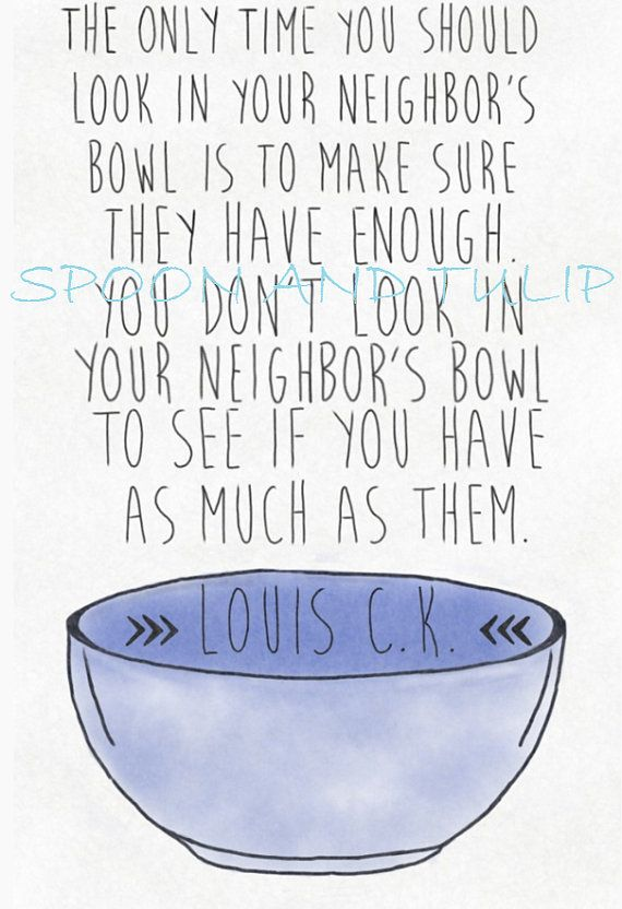 Louis C.K. Quote Digital Print by kai27 on Etsy