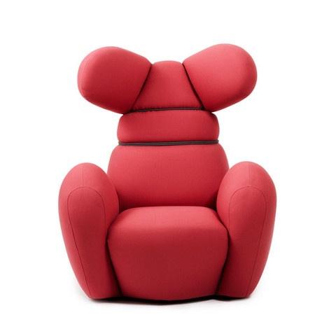 Bunny Chair by Isklos   Berlin: Rose, Chairs, Furniture, Normann Copenhagen, Bunnies, Products, Design