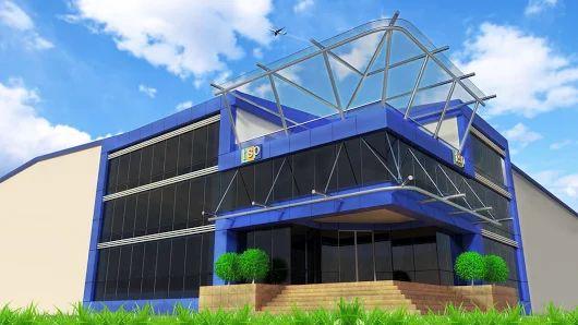 Ofisde Küçük Olsakda Ekibimizle Bir Futbol Takımı Kadar Organizeyiz www.izmirmarkareklam.com  TSP Alüminyum Kompozit Cephe Giydirme Tasarımı - Kocaeli