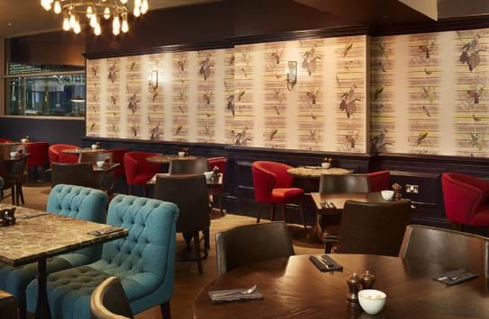 One Of Our Latest Projects The Cabin Bar At Bristol Airport Range Products Are Featured Inside And Out This Venue