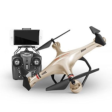 Drone Udi R/C 350HW 4CH 6 Axis 2.4G With HD Camera RC QuadcopterFPV / LED Lighting / One Key To Auto-Return / Auto-Takeoff / 360°Rolling 5373426 2016 – £56.82