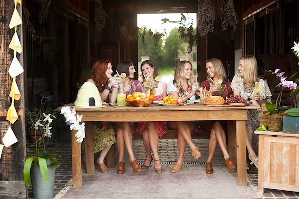 Spa Bridal Shower...know some ladies who would enjoy this someday...