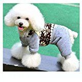 Gepolstert Hundemantel Regenmantel Hund Hundebekleidung Hundejacke Wintermantel Regenjacke mit Kapuze Größe: XS
