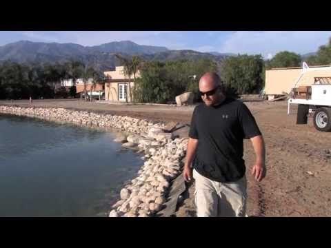 Pond Aerator Installation | Large Pond Management - YouTube