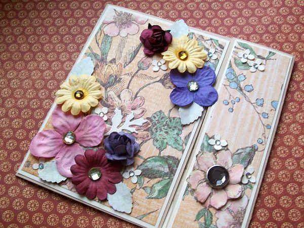 Mini albumik dla dziadka | KolorowAnka